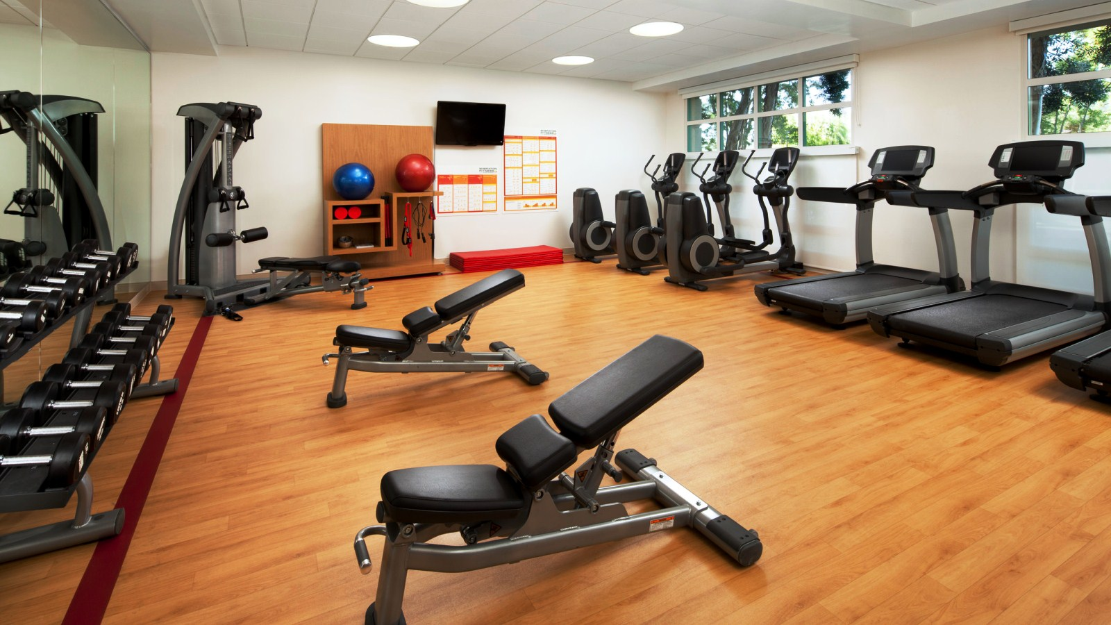 Features and Amenities - Fitness Center